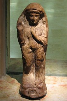 """Asherah - Hebrew Semitic mother Goddess who appears in Akkadian writings as Ashratum/Ashratu and Hittite as Asherdu and Ugaritic Athirat.  She is the wife/consort of Sumerian Anu or Ugaritic El, the oldest deities in the pantheons.  Allat is """"goddess par excellence"""".  In book of Jeremiah (628 BC) calls her queen of heaven.  In Ugaritic texts (1200 BCE) she is """"lady of the sea"""""""