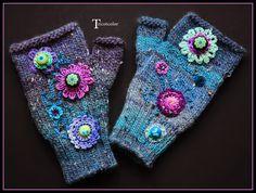 Tricotcolor: Black bag and spun wool!