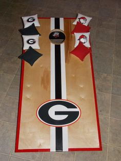 Collegiate cornhole boards  Tournament by EpiphanyWoodWorking, $180.00