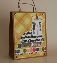 King of the Road Bag from Family Man Mini Theme. #echoparkpaper