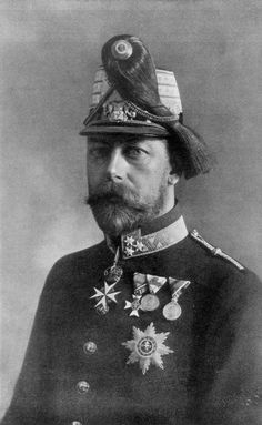 King George V of the United Kingdom wearing the uniform of an Officer of the Austrian Imperial Army