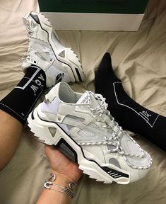 "43e24ac4636 StReEtwEaR on Instagram  ""Calvin klein white sneaker 🔥 or 🗑"