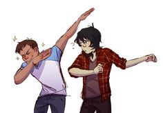 VLD fanart - Lance & Keith Teaching the ways of the Dab