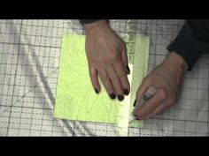 Quilt As You Go - Joining Sashed Quilt Blocks Part 3 of 4