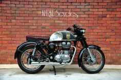 bratstyle royal enfield by kerkus cycles! great work