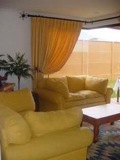 Cortinas on pinterest valances curtains and swag for Argollas con pinzas para cortinas