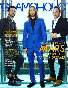 #30SecondsToMars #Covers #Magazines #BOGUE