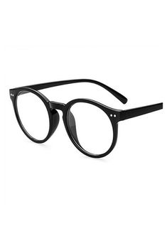 51aa1ad080 UVLAIK Fashion Men Women Glasses Frame Retro Round Spectacle Transparent Glasses  Frame Luxury Female Male