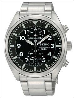【楽天市場】海外SEIKO 海外セイコー 腕時計 SNN231P1 メンズ Chronograph クロノグラフ【楽ギフ_包装】:CHANGE