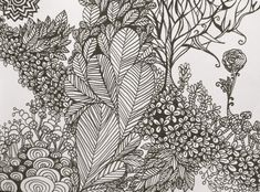 How to Zentangle Patterns Free | Garden Zentangle Doodle by SaraSoulSister13 on deviantART