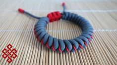 How to Make an Adjustable Stitched Snake Knot Paracord Bracelet Tutorial