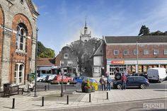 Swaffham Chuch Walk 1900 > now Uk Photos, Family Day, Present Day, Heritage Site, Norfolk, 21st Century, Touring, Survival, Walking
