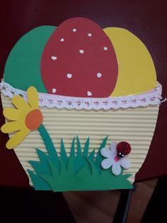 Preschool Arts And Crafts, Easter Activities, Paper Crafts For Kids, Bunny Crafts, Easter Crafts, Kids Art Class, Art For Kids, Spring Crafts, Holiday Crafts