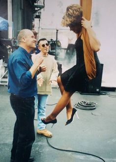 TINA TURNER HAVING FUN WITH PETER LINDBERGH
