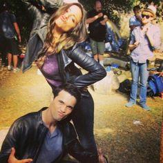 Agent Skye // Chloe Bennet Agent Ward // Brett Dalton Marvel Marvel's Agents Of S.H.I.E.L.D. I ship skyeward!