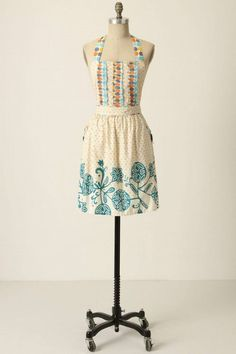 Aprons -- my mother always wore one.