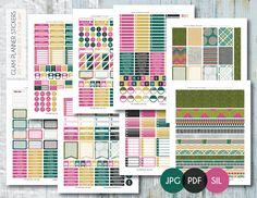Free Monthly Printable Planner Stickers Set - Accomplishment - Erin Condren