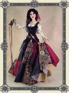 """Verushka  """"The Wedding Vardo"""" Crawford Manor - Custom made Dolls"""