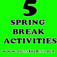 5 Fun and Inexpensive Ideas to Keep Kids Busy During Spring Break