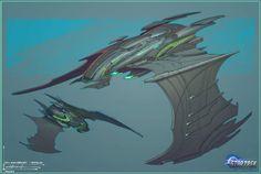 Romulan ship for Star Trek Online: New Dawn