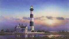 Morris Island Lighthouse , Folly Beach, South Carolina in the beginning. South Carolina Lighthouses, Coastal North Carolina, South Carolina Homes, Charleston Sc, Charleston South Carolina, Morris Island, Lighthouse Painting, Lighthouse Pictures, Folly Beach