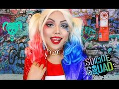 'HARLEY QUINN' Suicide Squad Makeup Tutorial !!! - YouTube