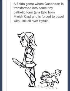 This Would Be a Pretty Awesome Legend of Zelda Game