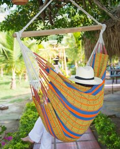 "Have a nice Sunday! Perfect day for relaxing in your #hammock or #hammockchair  Wir wünschen euch einen schönen #sonntag ! Perfekt um in eurer #hängematte oder #hängesessel zu relaxen   Here you see our Hammockchair Arabica Naranja Our Shop: www.lallax.de Follow us on Facebook ""LallaxHammocks""   #lallaxhammocks #hängestuhl #hangingchair #hangstoel #hamac #hamaca #hamak #hangmat #hängmatta #rede #hammocklife #hammocktime #garten #garden #outdoor #indoor #interiordesign #travel #relax…"