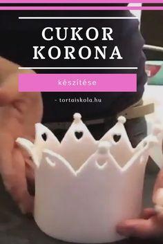 A korona készítése egyáltalán nem nehéz:-) Nyugi:-) Amit jó ha betartasz az a fondanthoz a tylo vagy cmc por keverése, hiszen ettől fog gyorsan száradni a massza. Receptet nem tudok adni, hi…