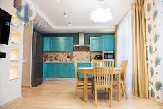 Дизайн светлой кухни в современном стиле