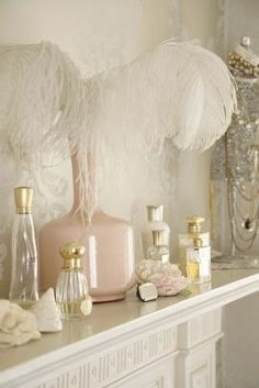 Charming mantle and plumes