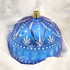 Winter Lace Ornament Pattern Packet - Patricia Rawlinson