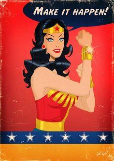 Wonder Woman (We Can Do It) Mashup
