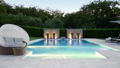 piscina con scala