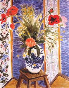Poppies Fireworks, Henri Matisse. French Fauvist Painter (1869-1954)