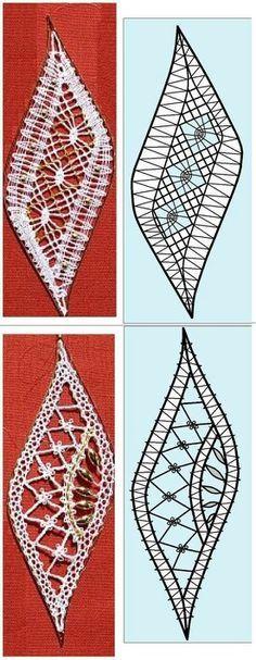 Risultati immagini per bobbin lace travel pillow