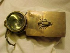 OLD-MINE-MINERS-MINING-NOT-CARBIDE-HIRSCH-PIONEER-ELECTRIC-LAMP-LIGHT-LIGHTING