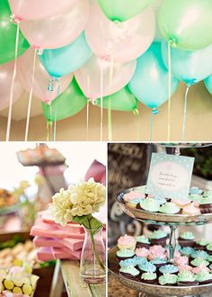 DIY:: Easy Sweet & Lovely Flower Garden Birthday Party or Shower With Recipes & Quick DIY  Decor !