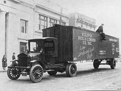 Model Railroad Minutiae: Freight truck 1922 - a use for old freight car bodies