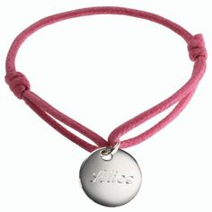 "Petits Tresors bracelets - can be engraved with ""Type 1 Diabetes"" and lots of pretty options"