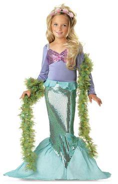 Lil' Mermaid Toddler / Child Costume from BirthdayExpress.com