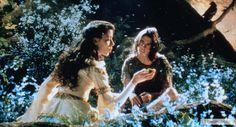 """Том Круз в роли Джека и Миа Сара в роли принцессы Лили, """"Легенда"""" / Tom Cruise and Mia Sara, """"Legend"""" (реж. Ридли Скотт, Великобритания, США, 1985) #легенда #томкруз #миасара #ридлискотт #фильм"""