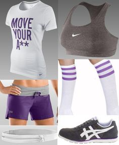 I really really want to go shopping for work out clothes. Fact: they look good on me. It actually makes me want to go work out as an excuse to wear them.
