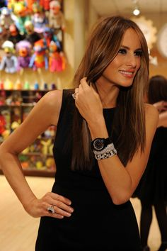 Melania Trump Photos - Melania Trump attends the 19th annual Bunny Hop hosted by the Associates Committee of The Society of Memorial Sloan-Kettering Cancer Center at FAO Schwarz on March 9, 2010 in New York City. - The Society Of MSKCC Hosts The 19th Annual Bunny Hop