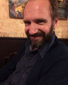 Hello, friends! Ralph Fiennes