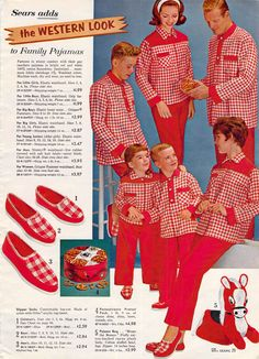 """Older boy is thinking, """"My life is so over...""""  1962 Sears Christmas Wishbook."""