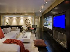 FORMA Design modern-home-theater