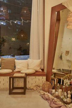 큐플레이스 :: 상가 인테리어 비교견적 서비스 Coffee Shop Interior Design, Cafe Interior, Cafe Design, Small Office, Restaurant Design, My House, Room, Retro, Furniture