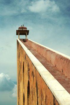 Stairs to Samrat Yantra, Jaipur