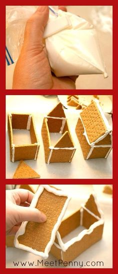 How to make graham cracker gingerbread houses happiness is christmas house diy solutioingenieria Image collections